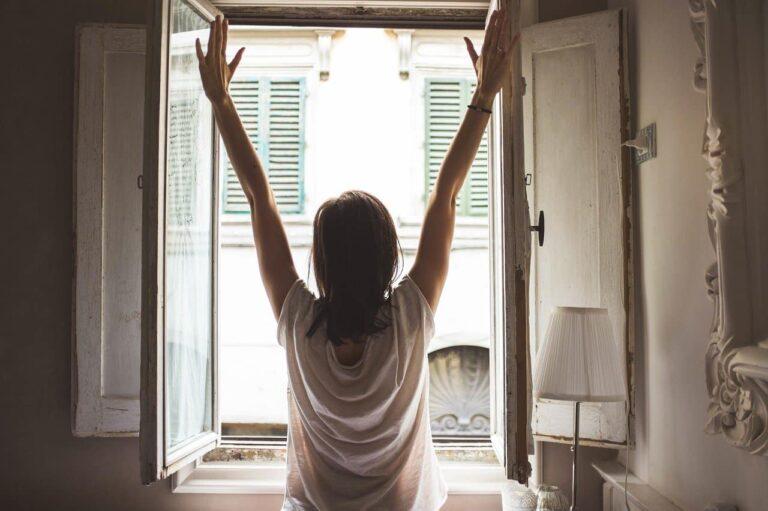morning routine waking